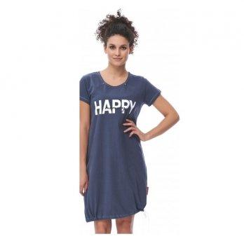 Домашнее платье Dobranocka TCB.9504 deep blue