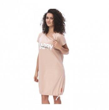 Домашнее платье Dobranocka TCB.9504 beige