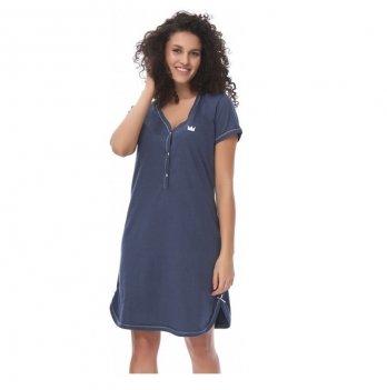 Домашнее платье Dobranocka TCB.9505 deep blue