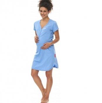 Домашнее платье Dobranocka TCB.9505 spa blue