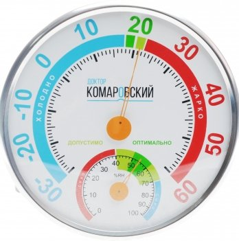Термогигрометр Доктор Комаровский Кроха