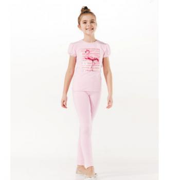 Лосины для девочки Smil от 7 до 10 лет розовые