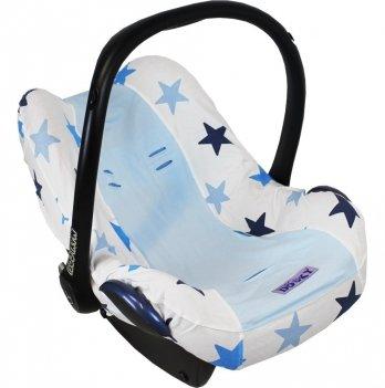 Чехол на автокресло 0+, Dooky Seat Cover, Blue Stars