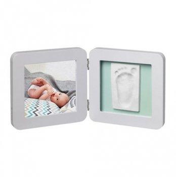 Фоторамка с набором для создания отпечатков Baby Art двойная, пастель