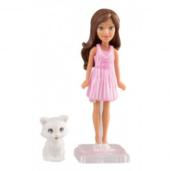 Мини-кукла «Веселая игра», Barbie в ас.(4)