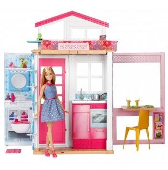 Портативний домик с куклой Barbie