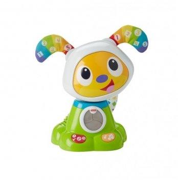 Танцующий щенок робота БиБо Fisher-Price, русский язык