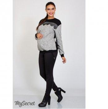 Теплые брюки-лосины для беременных MySecret Diaz TR-47.131 черный