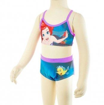 Купальник раздельный Disney Принцессы (Princess), розовый/голубой