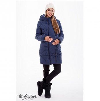 Пальто для беременных Angie MySecret OW-49.033 Синий