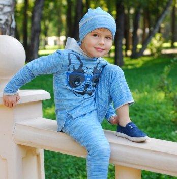 Шапочка, Minikin, 1710307 сине-серая