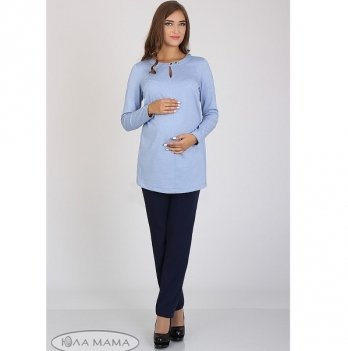 Брюки для беременных MySecret Inga 01.36.012 синий