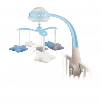 Карусель музыкальная электрическая с проектором Canpol babies Голубой 75/100