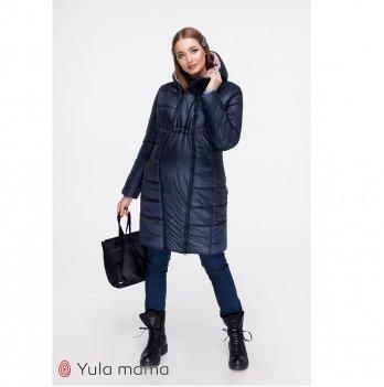 Пальто для беременных Mariet MySecret OW-49.042 Синий
