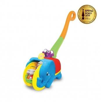 Игрушка-каталка Слон-циркач Kiddieland 058297