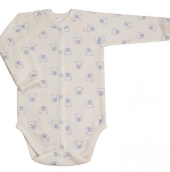 Боди Baby Bear blue Veres футер