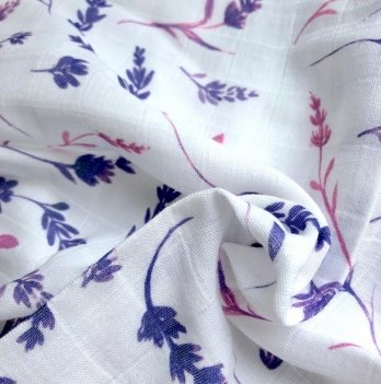Муслиновая пеленка Embrace Лаванда 100/80