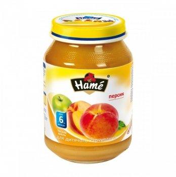 Пюре фруктовое Hame яблоко и персик 190 г