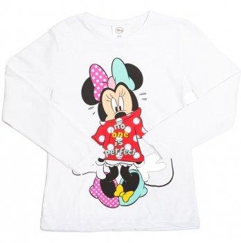 Реглан для девочки Disney Минни Маус (Minnie), белый