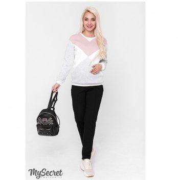 Теплые брюки для беременных MySecret Taya warm TR-48.111 черный