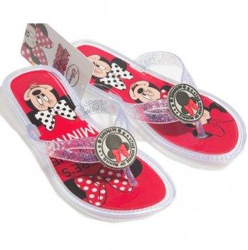 Вьетнамки Disney Минни Маус (Minnie), красные