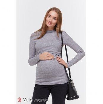Гольф для беременных и кормящих MySecret Lecie warm NR-49.061 серый меланж