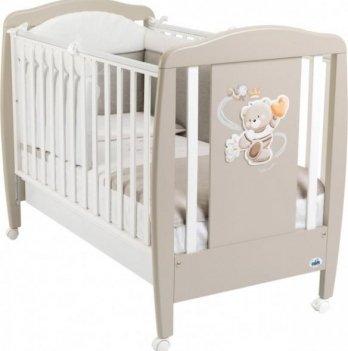 Кроватка детская Cam Orso, бук, кофейная
