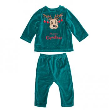 Новогодний костюм для мальчика Модный карапуз, зеленый