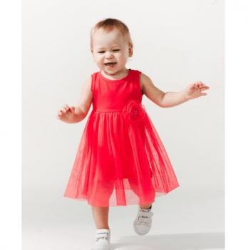 Сарафан для девочки Smil от 1 до 1,5 лет красный