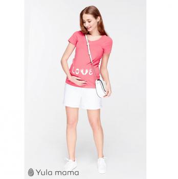 Шорты для беременных MySecret, белые