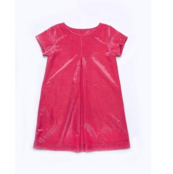 Платье праздничное Модный карапуз, малиновое