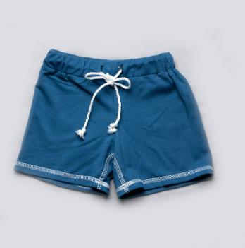 Шорты короткие для мальчиков Модный карапуз, синие