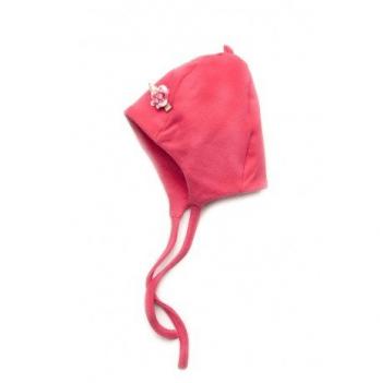 Шапочка для девочек Модный карапуз, коралловая