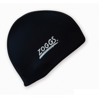 Шапочка для плавания Zoggs Stretch Cap, черная
