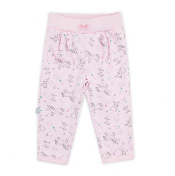 Штанишки для девочки SMIL, возраст от 6 до 18 месяцев, нежно-розовые с рисунком