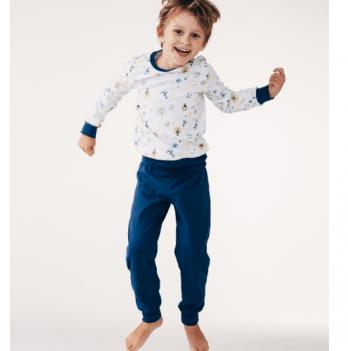 Пижама Smil Сказочные Сны для мальчиков Белый 2-6 лет