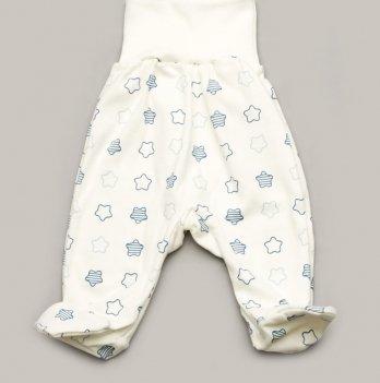 Евроползунки с закрытыми ножками для мальчика интерлок Модный карапуз My little star