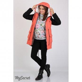 Куртка для беременных MySecret Lex Коралловый OW-36.051
