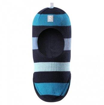 Шапка-шлем для мальчика Reima Starrie, сине-голубая