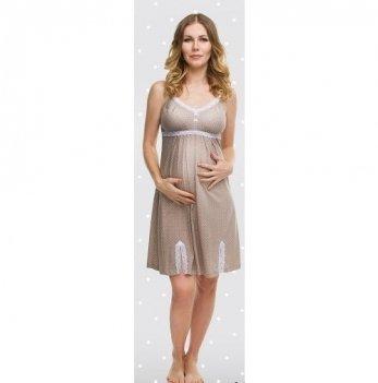 Ночная сорочка для беременных и кормящих мам DISSANNA 1186