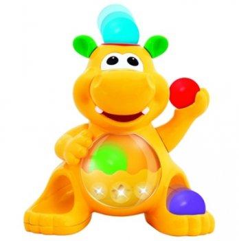 Игрушка Гиппопотам-жонглёр, Kiddieland - preschool, звук