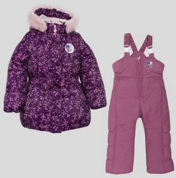 Комплект для девочки Evolution, возраст от 1 до 4 лет, фиолетовый/розовый