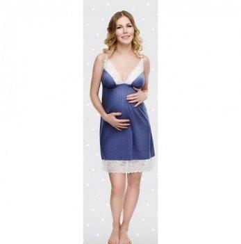 Ночная сорочка для беременных и кормящих мам DISSANNA 1179
