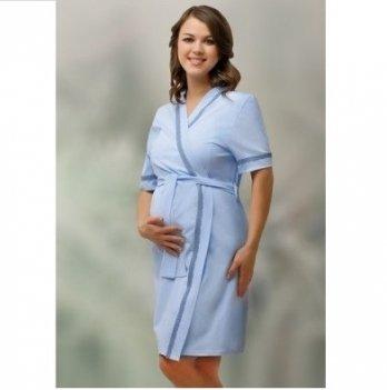 Халат для беременных и кормящих мам DISSANNA 2015