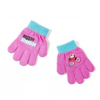 Перчатки Disney Минни Маус (Minnie), розовые