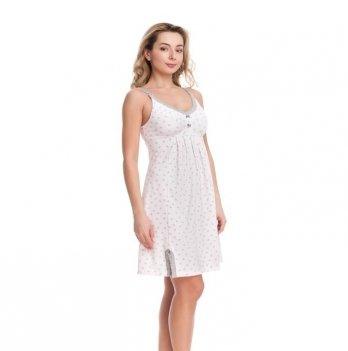 Ночная сорочка для беременных и кормящих мам DISSANNA 1287