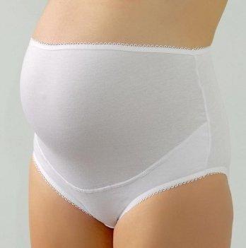 Трусики для беременных DISSANNA эластичные хлопковые, 30219, белые