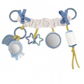 Игрушка подвеска на коляску Canpol babies Pastel Friends Серый 68/072