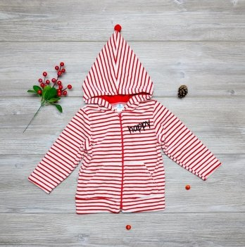 Курточка велюровая Minikin Красный 192004