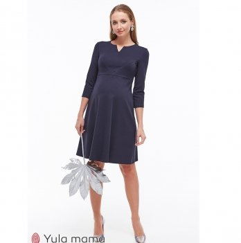 Платье для беременных и кормящих MySecret Eloize DR-39.071 темно-синий